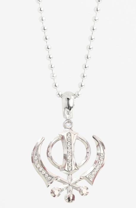 Khanda in Necklace