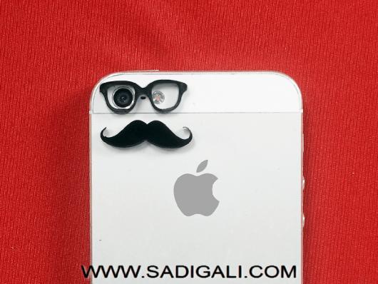 Mustache Goggles Mobile Skin