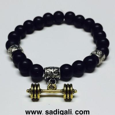 Gold Gym Bracelet