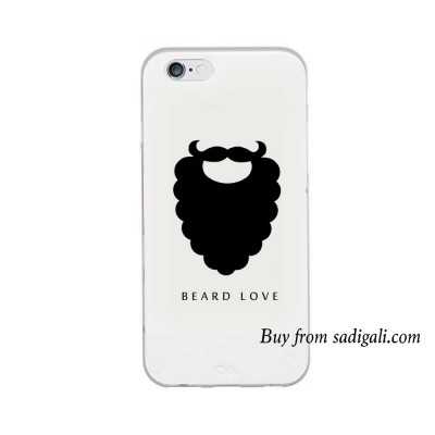 Beard Love iPhone Mobile Back Cover