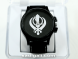 White Khanda Wrist Black Watch