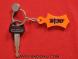 Fateh Khanda: Acrylic Key Chain