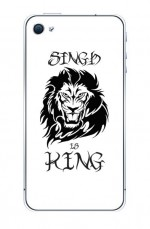 Singh is King Mobile Cover
