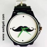 Black Mustache Premium Black Watch