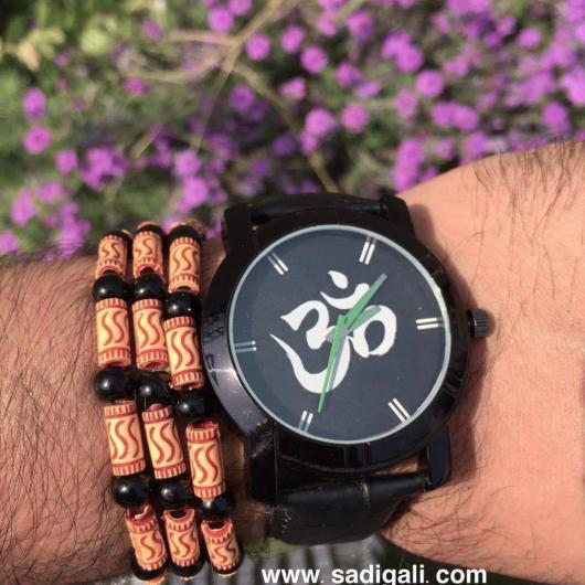 Om Namah Shivay Black Watch