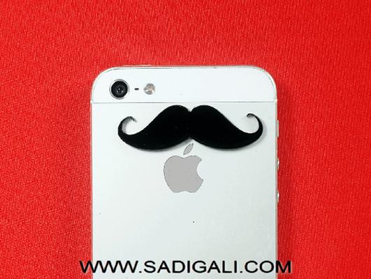 XL Mustache Mobile Skin