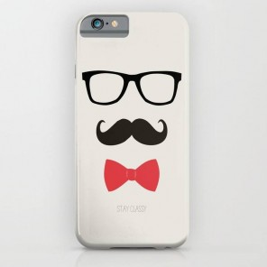 iPhone Mustache Cover