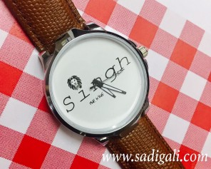 "Singh-The King Men""s Watch"