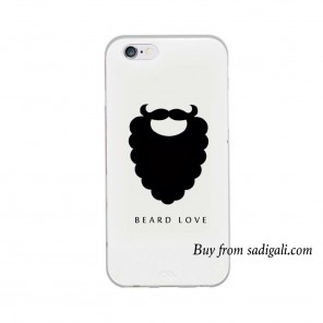 Beard Love iPhone Mobile Back Cover