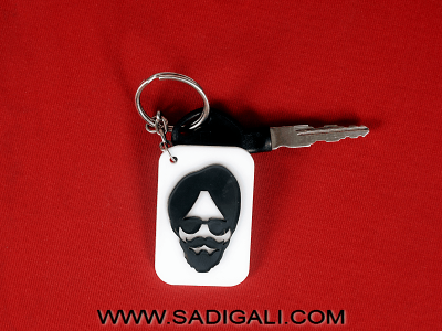 Sardar Ji : Acrylic Key Chain