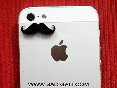 Kunddi Muchh: Mobile Acrylic Sticker