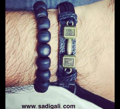 Dumbbell Beads Bracelet