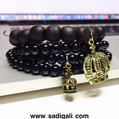 King Queen Couple Bracelet