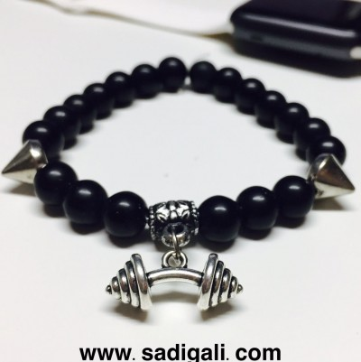 Dumbbell Heavy Bracelet