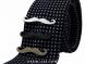 Heavy Metal Mr. Mustache Tie Clip