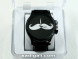 White Mr Mustache Wrist Watch