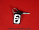 Beard Swagger Acrylic Key Chain